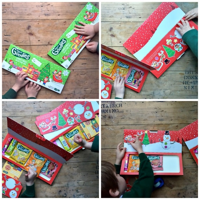 Organix Christmas Selection Box | Veggie Desserts Blog by Kate Hackworthy