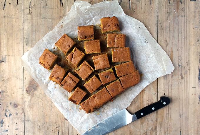 Chocolate Chunk Butternut Squash Cake | Veggie Desserts Blog