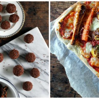 Christmas Leftover Recipes: Pizza and Truffles