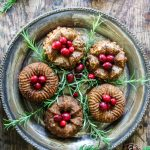 Mini Bundt Chestnut Roasts with Sage Gravy