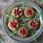 Mini Bundt Chestnut Roasts with Sage Gravy