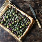 Red Cabbage and Brussels Sprout Tart #PowerOfFrozen