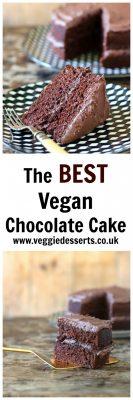The BEST Vegan Chocolate Cake   Veggie Desserts Blog