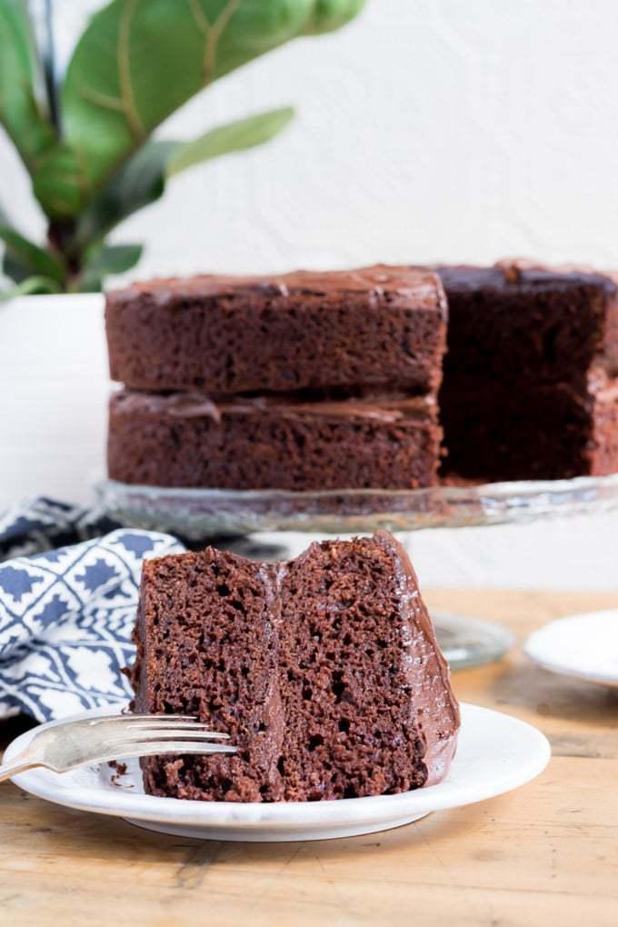 Pleasant The Best Vegan Chocolate Cake Veggie Desserts Funny Birthday Cards Online Barepcheapnameinfo