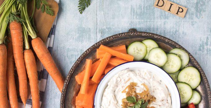 Lighter French Onion Dip Recipe