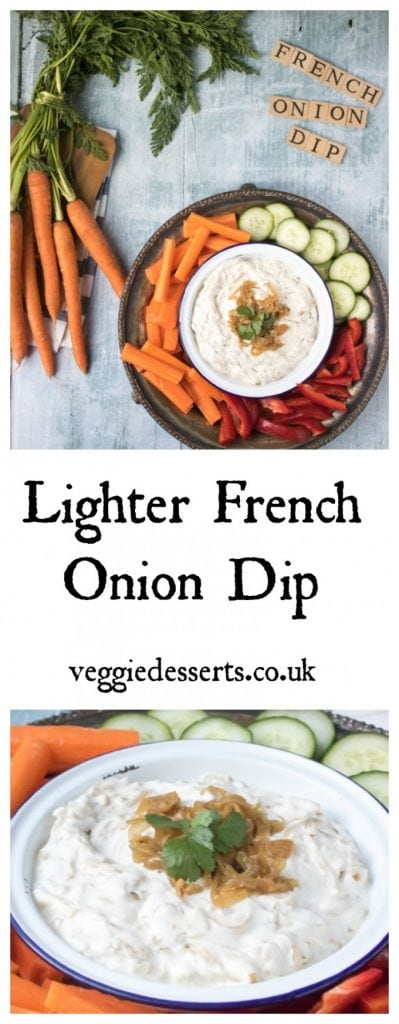 Pinnable image for French Onion Dip
