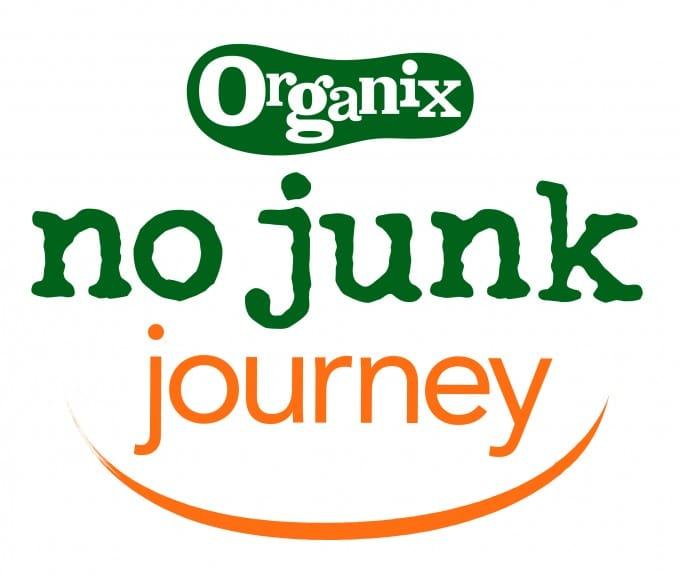 Organix no junk journey logo