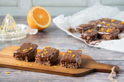 Vegan Chocolate Orange Bars   Veggie Desserts