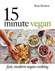 15 Minute Vegan cookbook cover