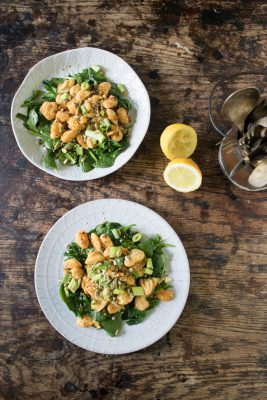 Sauteed Butter Bean Salad with Spinach (Lima Bean)   Veggie Desserts Blog