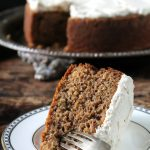 Carrot Peeling Cake with Cinnamon Icing