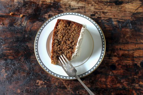 Carrot Peeling Cake with Cinnamon Icing | Reduce Food Waste | Veggie Desserts Blog