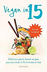 Vegan in 15 cookbook cover