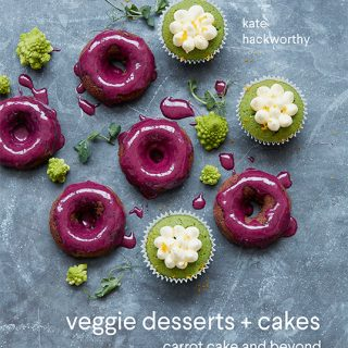 Veggie Desserts and Cakes Cookbook | Kate Hackworthy