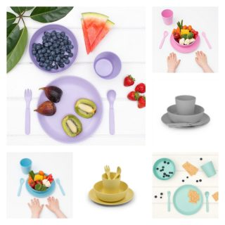 Win Two Kids Bamboo Dinner Sets RRP £40