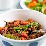 Camping Recipes: Lentil Tomato Stew | Veggie Desserts Blog