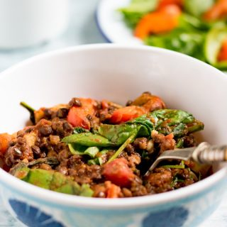 Camping Recipes: Lentil Tomato Stew | Veggie Desserts Blog