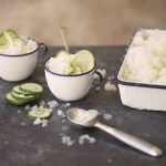 Cucumber Lemon Granita