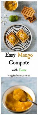 Easy Mango Compote Recipe | Veggie Desserts Blog