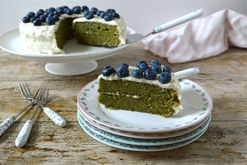 Kale and Apple Cake by Tin and Thyme from Veggie Desserts + Cakes Cookbook by Kate Hackworthy