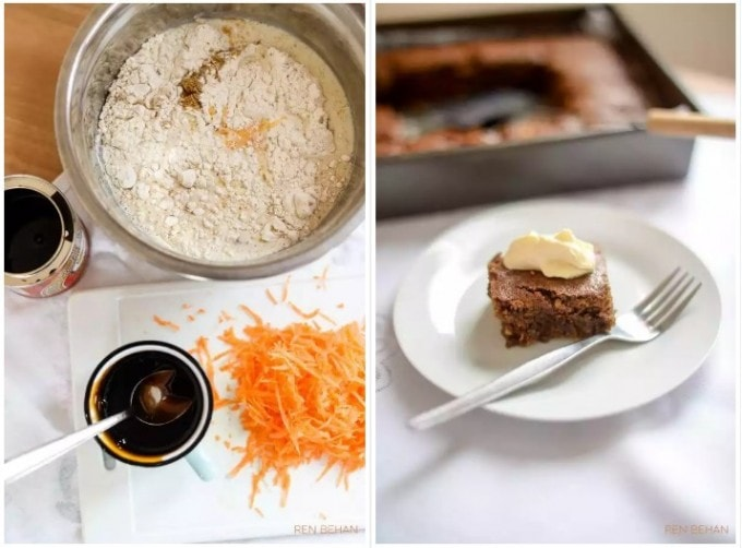 Carrot Gingerbread by Ren Behan - From Veggie Desserts + Cakes by Kate Hackworthy