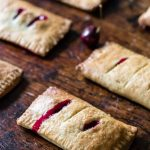 Lime and Fresh Cherry Hand Pies | Veggie Desserts Blog