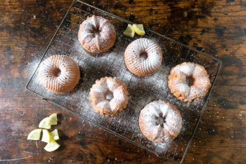 Easy Lemon Mini Babkas from Wild Honey and Rye Cookbook | Veggie Desserts Blog