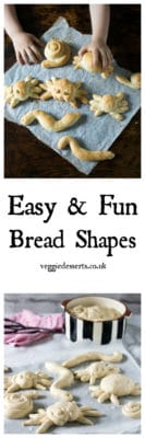 Easy and Fun Bread Shapes - These bloodcurdling bug shapes are perfect for halloween! Easy enough for kids to make.