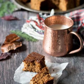 Yorkshire Parkin Recipe (Sticky Oat Ginger Cake)