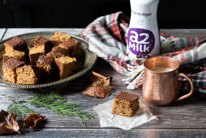 Yorkshire Parkin is a sticky ginger cake made with oats. It is warming, flavourful and easy to make.