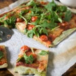 Easy Spinach Pizza Crust