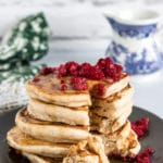 Gingerbread Fluffy Vegan Pancakes