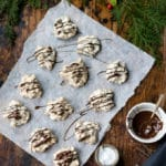 Icelandic Christmas Meringue Cookies with Salted Chocolate