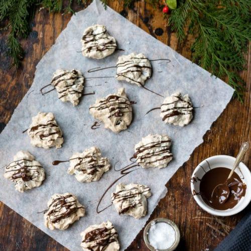 Icelandic Cornflake Meringue Cookies For Christmas