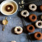 Feeney's Irish Cream Baked Doughnuts