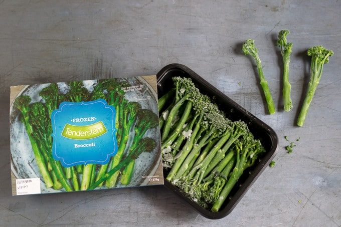 Frozen Tenderstem at Iceland Foods