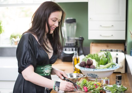 Kate Hackworthy: journalist, author and award-winning UK food blogger.