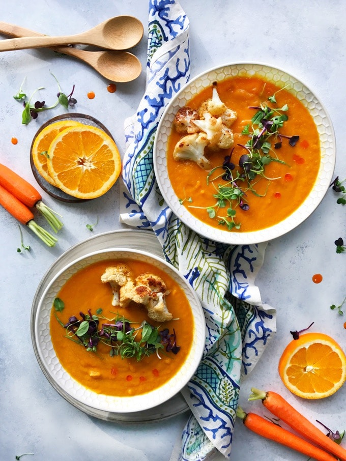 Immune Boosting Carrot Soup