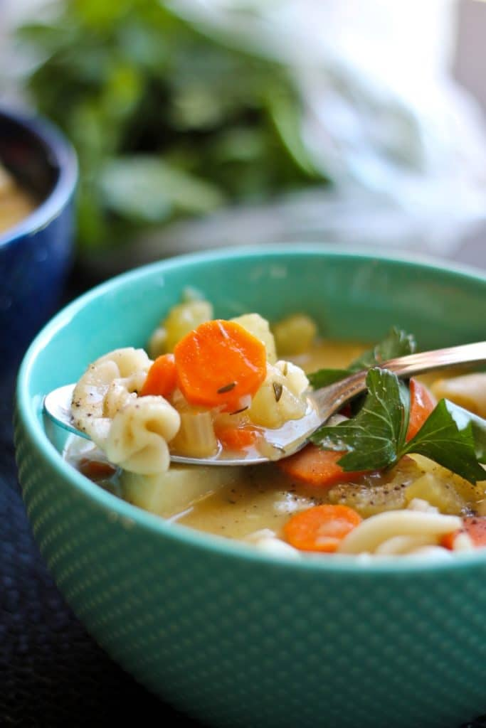 The best cold and flu fighting recipes (vegan and vegetarian) | Vegan Noodle Soup