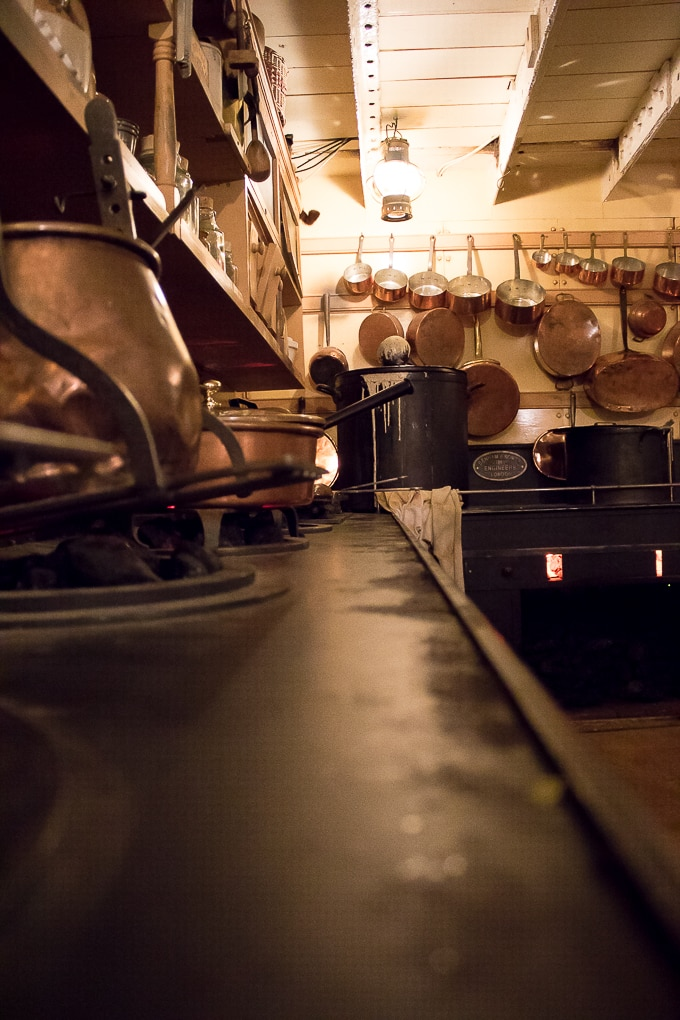SS Great Britain Kitchen