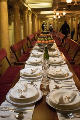 SS Great Britain First Class Dining Saloon