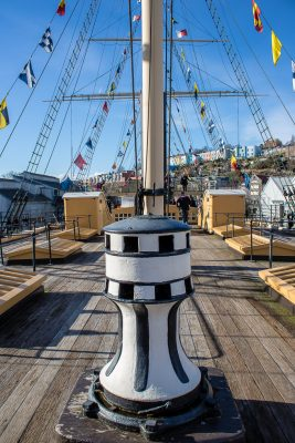 SS Great Britain deck