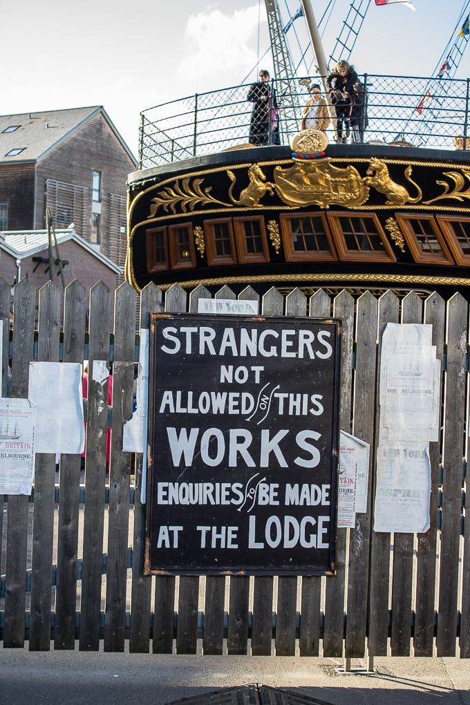 SS Great Britain gates