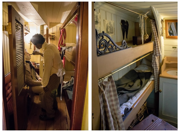 SS Great Britain Cabins