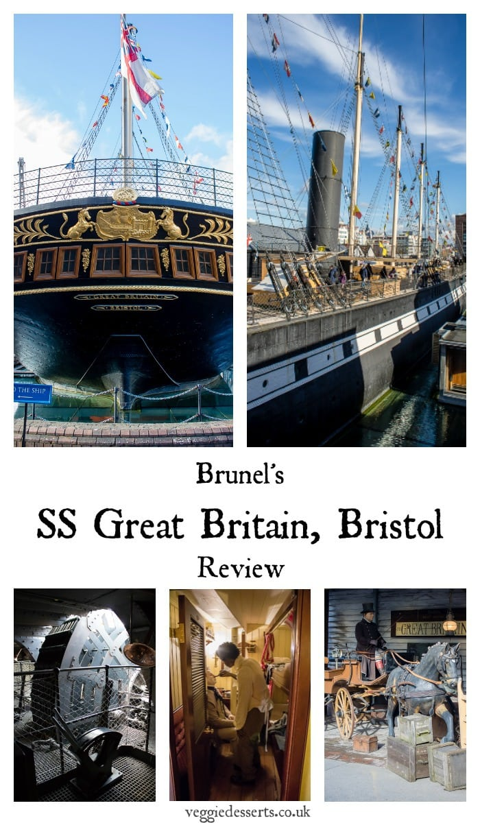 A review of a day at the SS Great Britain museum ship in Bristol, UK. Brunel's historic Victorian luxury passenger steamship is a great family day out with lots to explore on board and off. #familydayout #travel #nauticalmuseum #bristol
