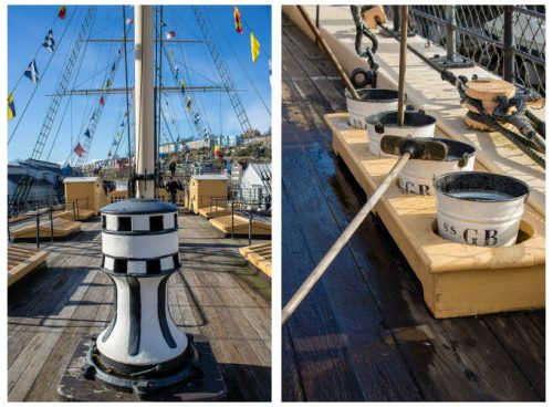 SS Great Britain Weather Deck