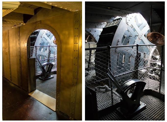 SS Great Britain Vee Engine