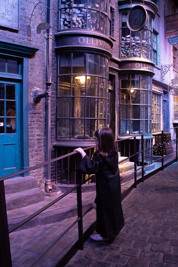 Diagon Alley at the Harry Potter Studio Tour, London