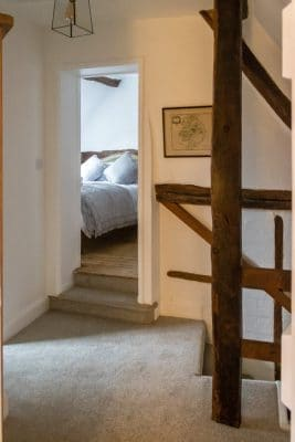 Upstairs hallway at One Masons Court, Stratford-upon-Avon
