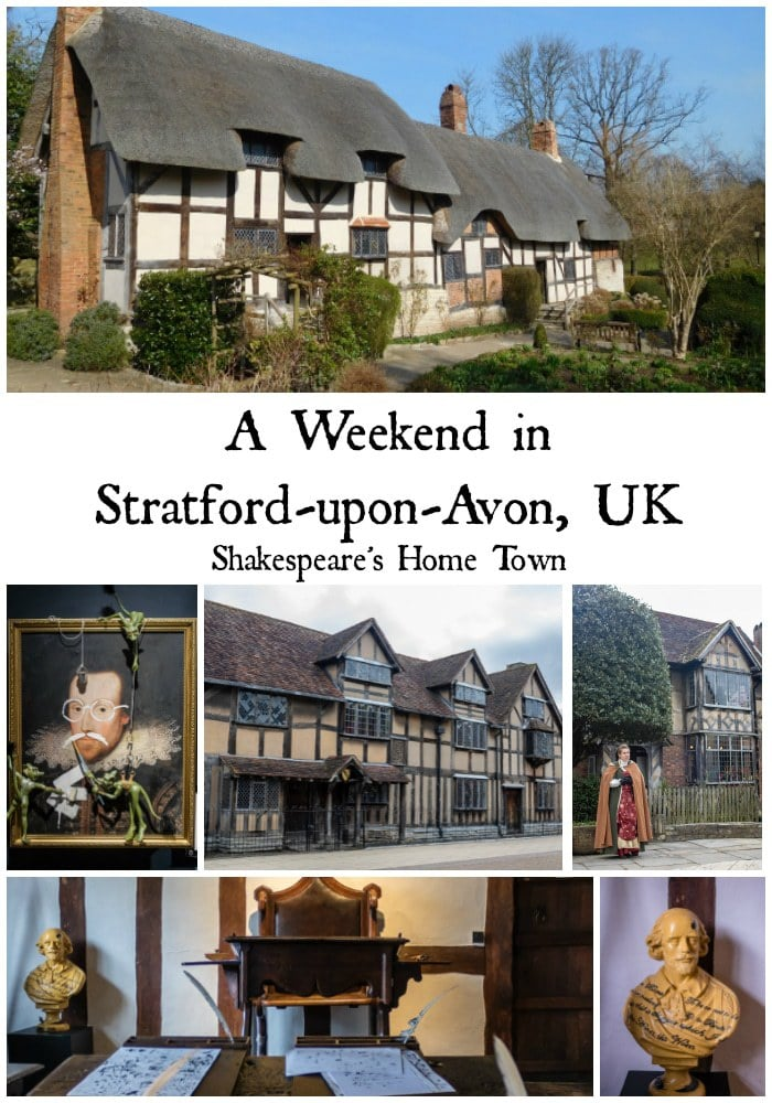 Find out about our adventures on a family weekend in Stratford-upon-Avon, visiting Shakespeare's 16th century Tudor houses, an automata museum and much more. #warwickshire #england #stratforduponavon #travel #tudor #weekend #architecture #oldengland #shakespeare